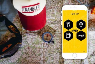 Belle strade e buon cibo: una app coi consigli firmati Scrambler