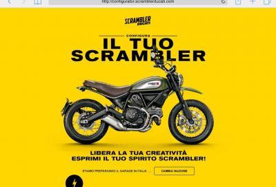 Personalizza la tua Scrambler con il nuovo configuratore Ducati
