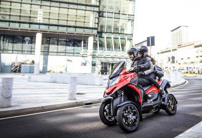 Quadro: promozione sullo scooter a 4 ruote fino al 30 settembre