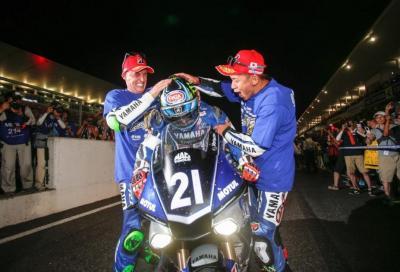 Yamaha fa il bis alla 8 Ore di Suzuka (podio per Haslam e Haga!)