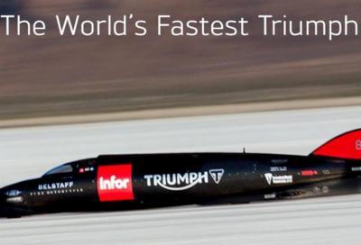 Guy Martin a 441 km/h a Bonneville: è record in casa Triumph!