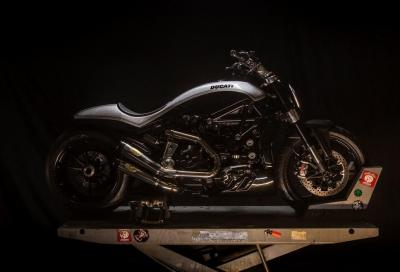 Ducati a Sturgis con una XDiavel special by Roland Sands