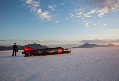 Record di velocità: Triumph e Guy Martin danno appuntamento a settembre