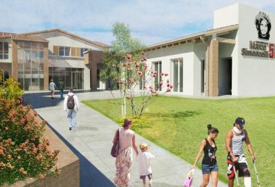 Inizia la costruzione del centro della Fondazione Simoncelli