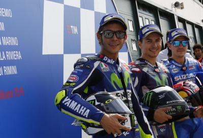 Lorenzo è tornato: sigla pole e record, Rossi 2°