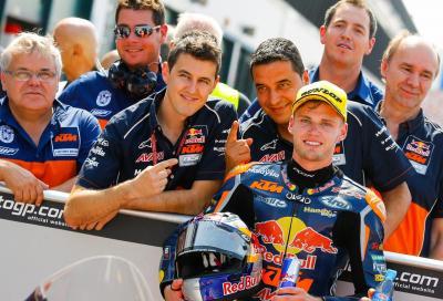 Moto3: Binder in pole, Bastianini e Bulega in prima fila