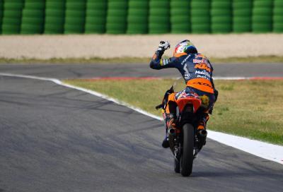 Binder vince davanti a Bastianini e ipoteca il titolo Moto3