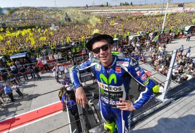 """Rossi: """"Una gara speciale che avrei dovuto vincere"""""""