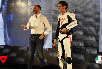 Dainese e AGV: sicurezza dalla testa ai piedi, sviluppata con Rossi