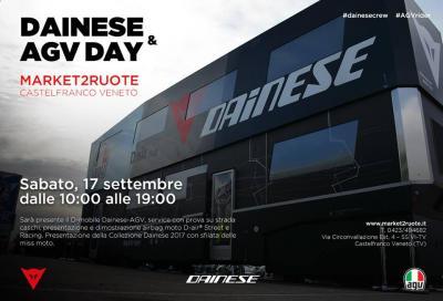 Dainese e AGV Day: oggi a Castelfranco Veneto con le Miss Moto
