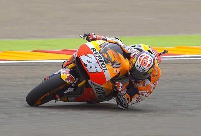 Pedrosa al top e Honda davanti a tutti nelle FP2 del GP di Aragona