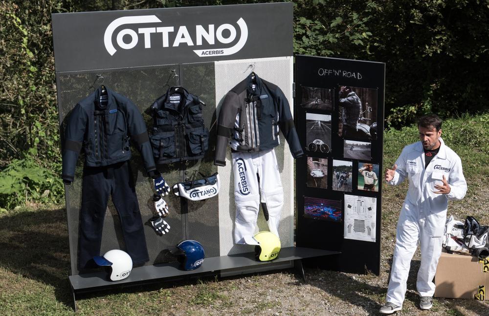 Giacca Acerbis Ottano Racing GrigioBlu