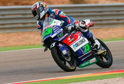 Bastianini in Pole ad Aragon, solo terza fila per Binder