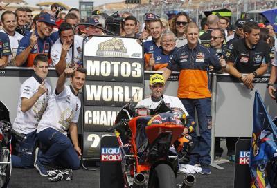 Binder è Campione del Mondo Moto3 2016. Bastianini lotta ma è solo 3°