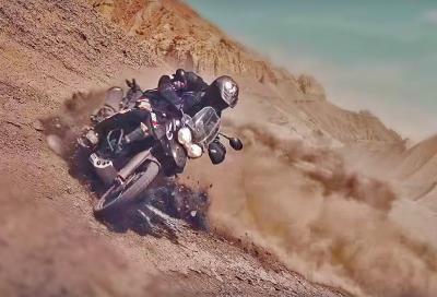 Avventura tra canyon e deserti con Triumph Tiger Explorer e Tiger 800