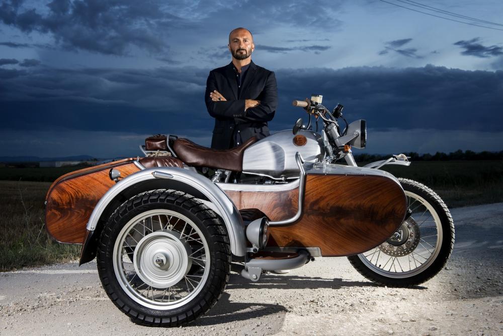 Special Bmw R 100 Gs Sidecar Ocgarage Avventura Motociclismo