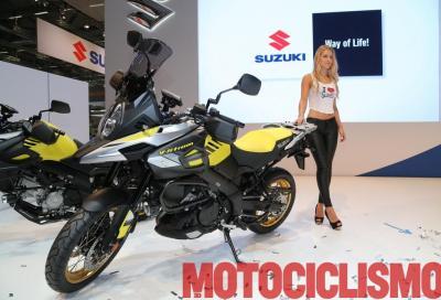 La Suzuki V-Strom 1000 2017 porta con sé alcune novità tecniche ed estetiche