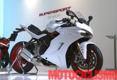 DNA racing e abiti civili, ecco la nuova Ducati SuperSport