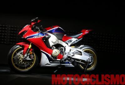 Nuove Honda CBR1000RR Fireblade SP e SP2: meno kg, più CV
