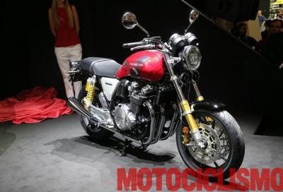Nuova Honda CB1100RS: café racer made in Tokyo
