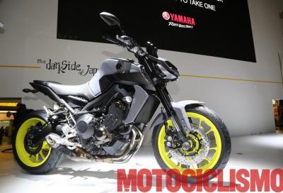 Yamaha presenta la MT-09 2017