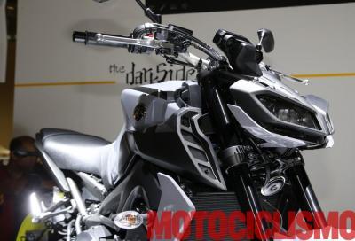 La nuova Yamaha MT-09 in azione