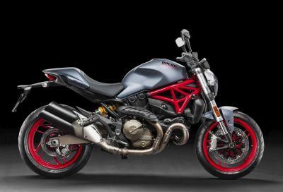 Ducati Monster 821 e Diavel si adeguano all'Euro 4