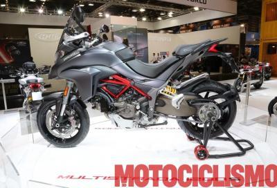 Ducati Multistrada 1200 2017: grinta al motore e nuova livrea (per la S)