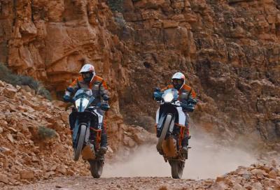 Offroad estremo con le nuove KTM 1090 R e 1290 Super Adventure R