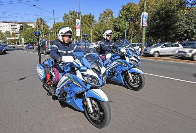 Yamaha per la Polizia: due nuove FJR1300 in divisa