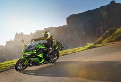 Kawasaki Z1000SX: più sicurezza, stesso divertimento