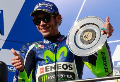 """Rossi: """"Questo 2° posto è per te, Sic"""""""