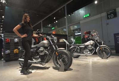 Le Moto Guzzi V9 Roamer e Bobber 2017