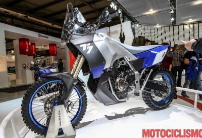 All'avventura con il nuovo concept Yamaha T7 (il video)