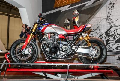 CB1100TR Concept: la maxi Honda ispirata al Flat Track
