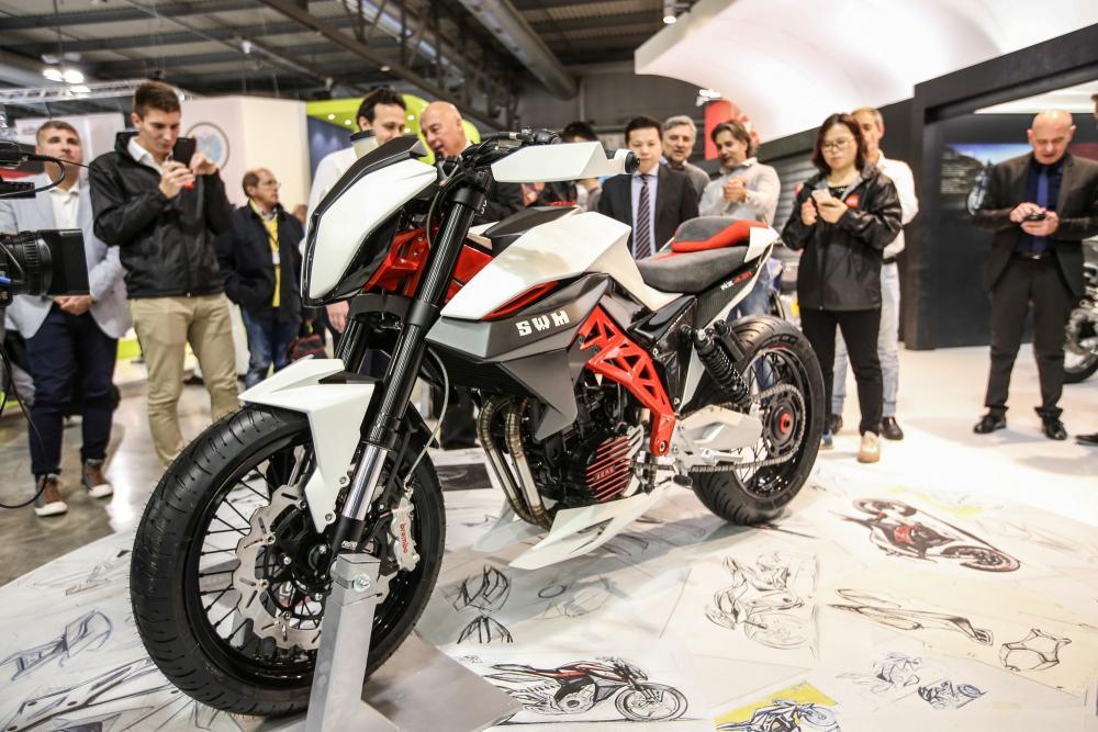 SWM Superdual 2017, Concept RZ 4.21, gamma enduro e motard