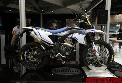 Il rilancio Mondial continua con la nuova SMX 125