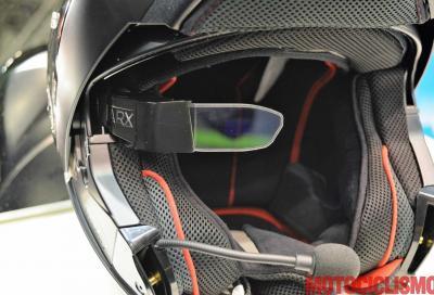 Ecco come funziona il casco Nolan con head up display