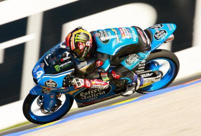 Prima pole nel Mondiale Moto3 per Canet