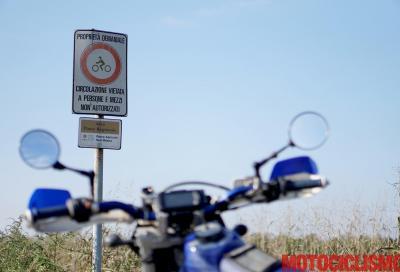 """Cai e Forestale contro gli enduristi: """"Investono agenti e strappano cartelli"""""""