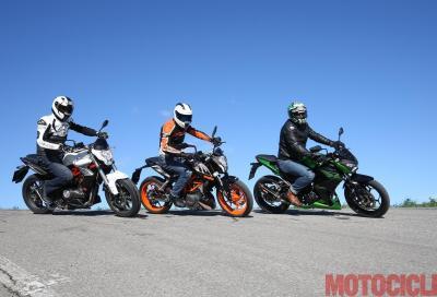 Tre naked 300 cc alla conquista del mercato