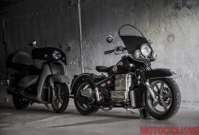 La metamorfosi: da scooter a custom vintage