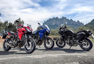 Yamaha Tracer 700: la foto più cliccata del 2016