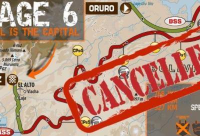 Dakar 2017: annullata la tappa 6 a causa del maltempo