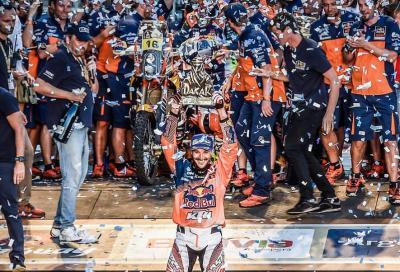 Sam Sunderland conquista la Dakar 2017