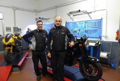 F.lli Moro apre una nuova officina Triumph a Milano