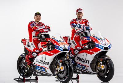 Ecco la livrea della Ducati MotoGP 2017 di Lorenzo e Dovizioso