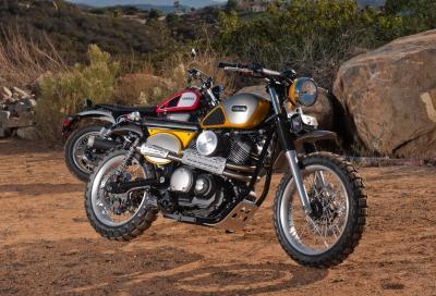 Yamaha SCR950 Yard Built: scrambler retrò ma... moderna