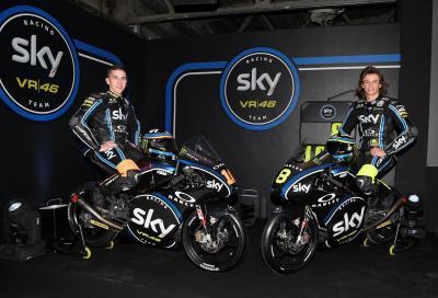 Sky Racing Team VR46: livrea delle moto 2017 di Bulega, Migno, Bagnaia e Manzi