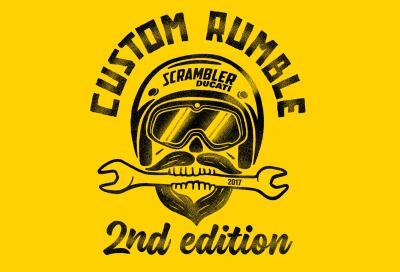"""Torna """"Custom Rumble"""", il contest Ducati dedicato alle Scrambler special"""